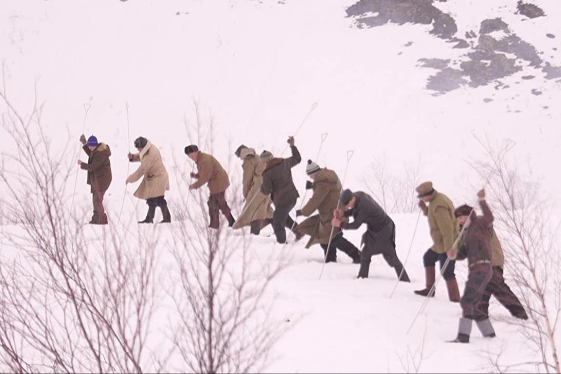 Кадр из сериала «Перевал Дятлова»