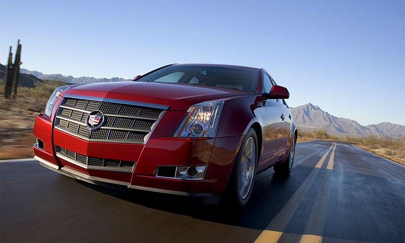 Cadillac CTS 2008 получил новый дизельный двигатель