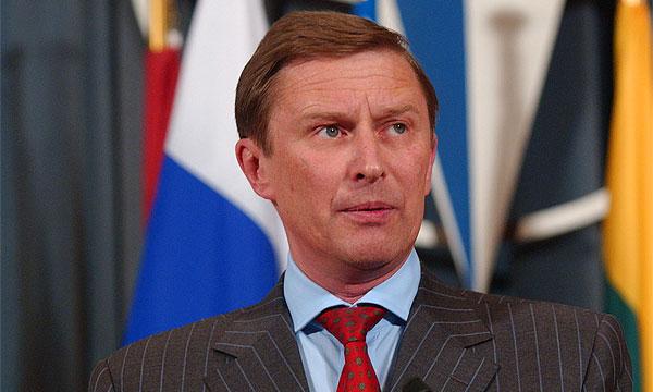 Вице-премьер Сергей Иванов