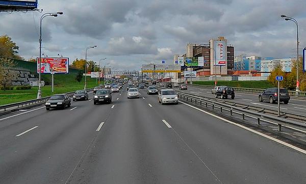 Максимальную скорость на ТТК могут снизить до 60 км/ч