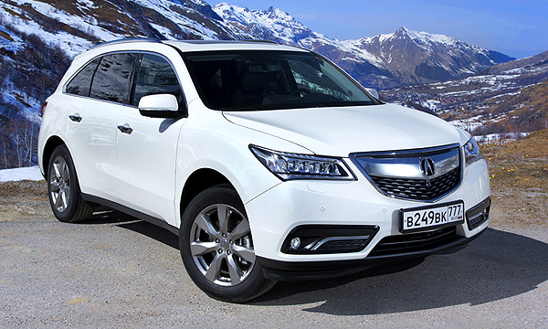 Acura продала за апрель в России 112 машин