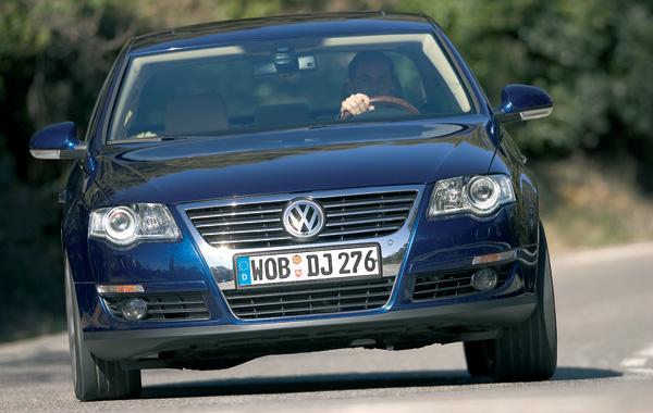 Новый VW Passan