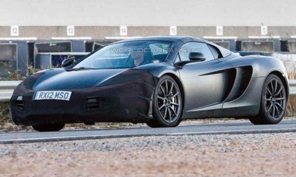 Спорткар McLaren P13 получит мотор мощностью 500 лошадиных сил