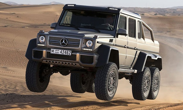 Mercedes-Benz объявил цену на новый G 63 AMG 6x6
