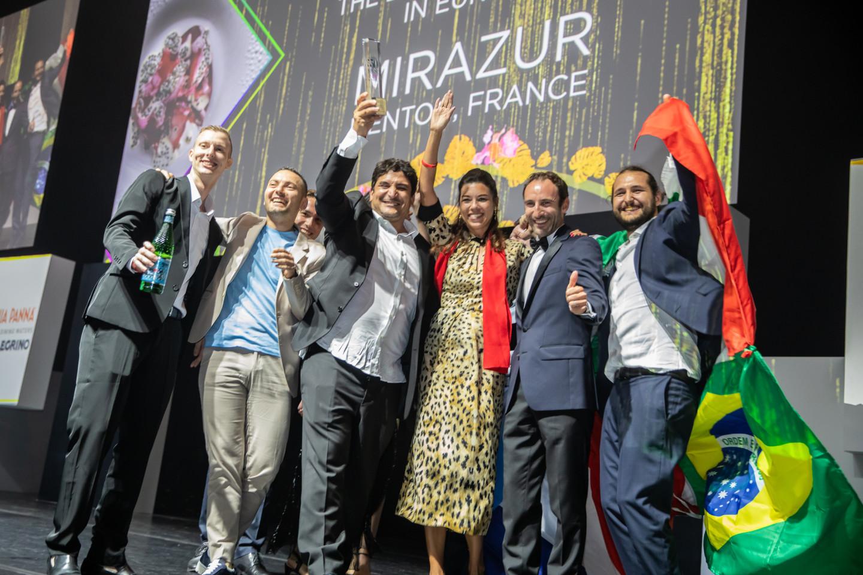 Команда ресторанаMirazur