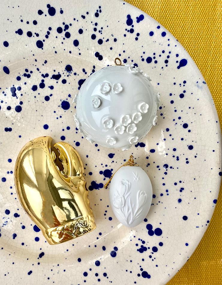 Солонка и перечница в виде клешни (Zara Home) Елочные игрушки Meissen («Дом фарфора»)