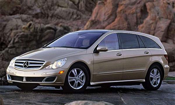 Mercedes отзывает 12 000 R-Classe