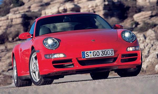 Полноприводный Porsche 911