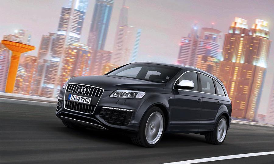 Audi Q7 показал полное превосходство дизеля