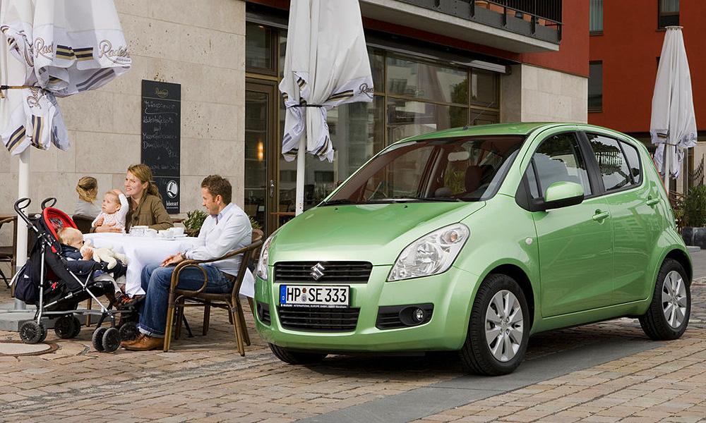 Suzuki Splash обзавелась российскими ценами