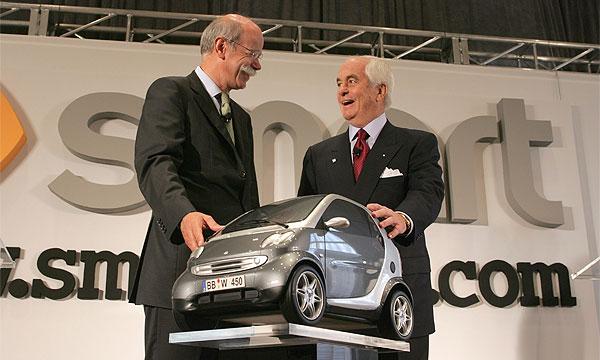 DaimlerChrysler официально подтвердил свои планы продвигать в Америке Smart