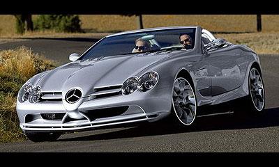 Кабриолет McLaren Mercedes SLR