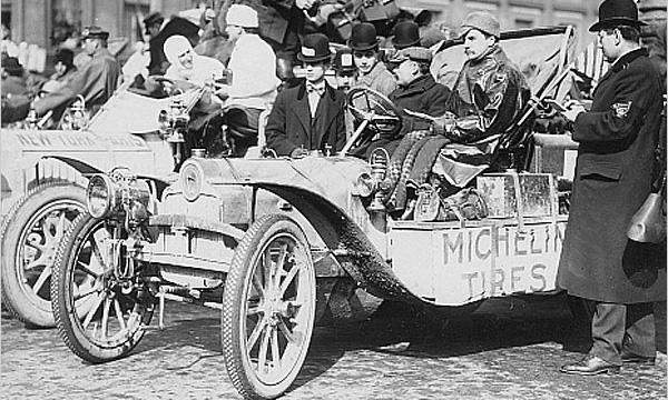 Сто лет назад стартовал первый в мире кругосветный автопробег