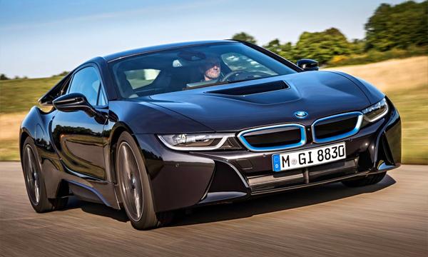 BMW i8 отправится в серийное производство в апреле