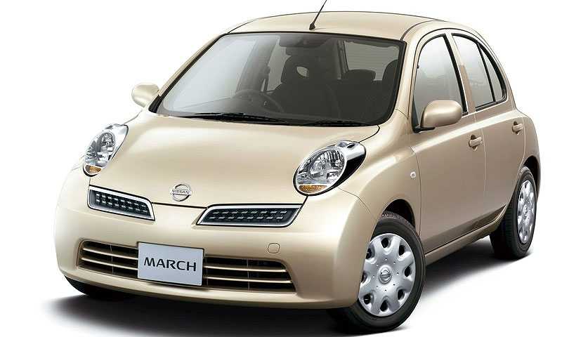 Модели Nissan March исполнилось 25 лет