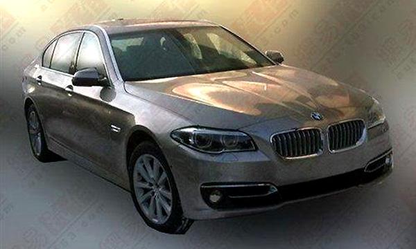 Фото интерьера новой «пятерки» BMW  попало в сеть