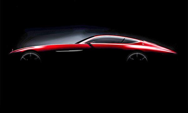 Купе Mercedes-Maybachпоказали на видео