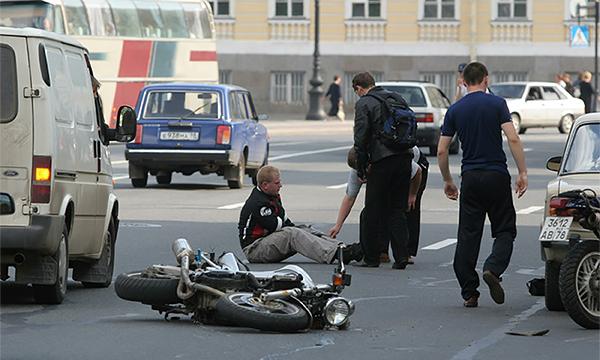 В Москве мотоциклисты стали реже попадать в аварии