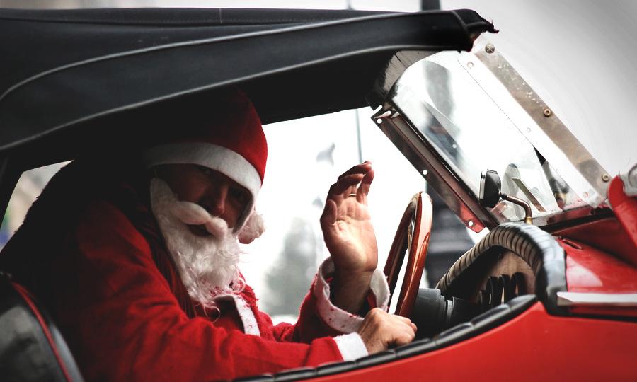 Поляки просят Деда Мороза подарить им на Рождество избавление от пробок