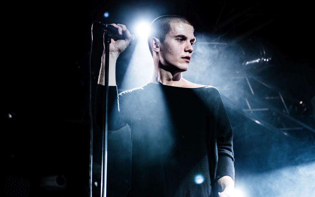 Николай Комягин, вокалист Shortparis