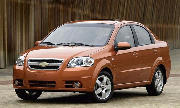 Chevrolet Aveo обновили к Лос-Анджелесу