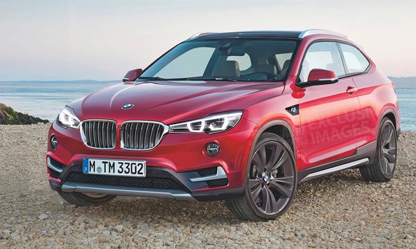 Стали известны первые подробности про BMW X2