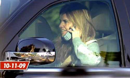 Супруга Шварценеггера Мария Шрайвер попалась на телефонных разговорах за рулем