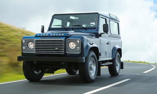 Land Rover Defender будут производить в Индии
