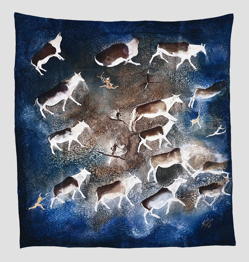 Шелковый шарф от Нельсона Манделы