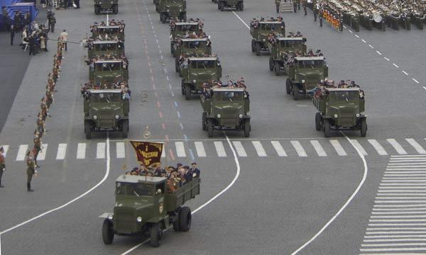 С 27 апреля по 3 мая в Москве ограничено движение транспорта