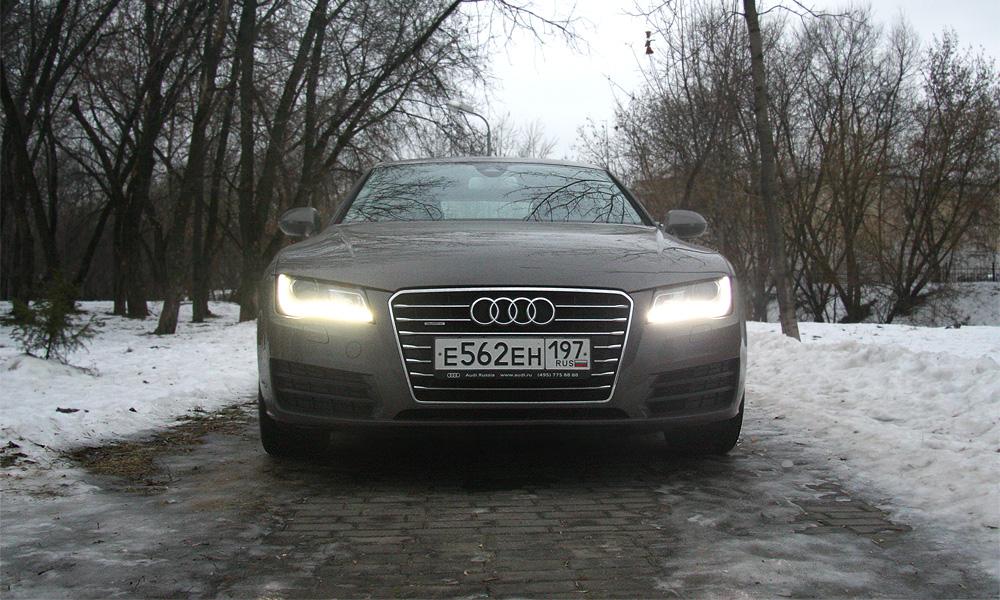 Необычный городской житель. Долгий тест-драйв Audi A7