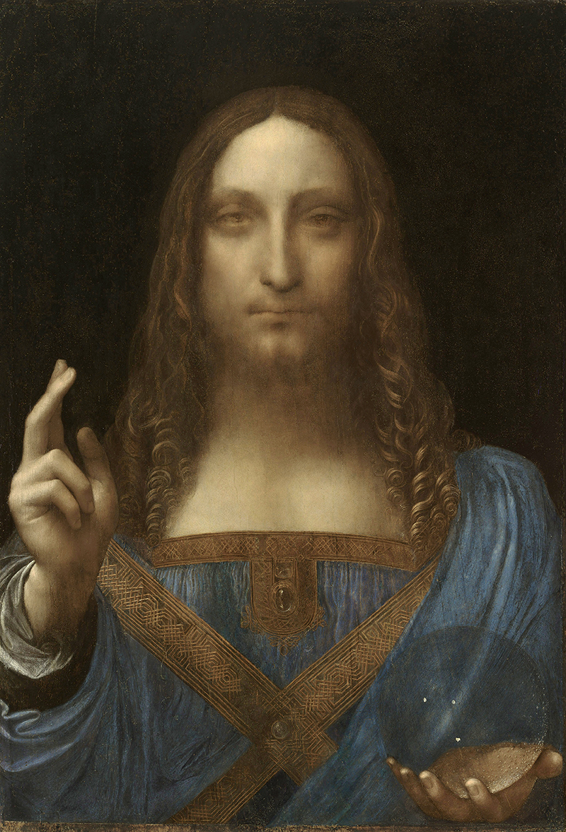 Леонардо да Винчи, «Спаситель мира»