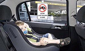 В Москве угнан Mercedes с ребенком