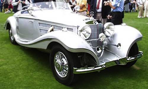 Mercedes 540K продают всего за  2,28 млн долл.