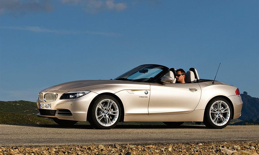 Новый BMW Z4 соединил вместе купе и родстер