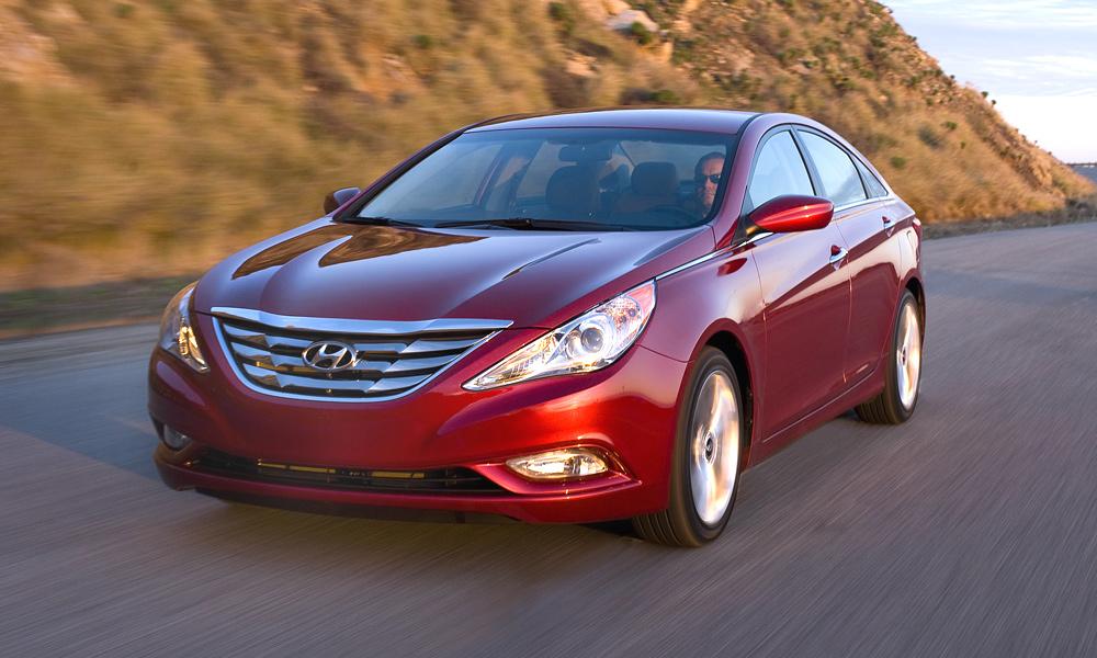 Hyundai Sonata 2011 получила высший балл за безопасность