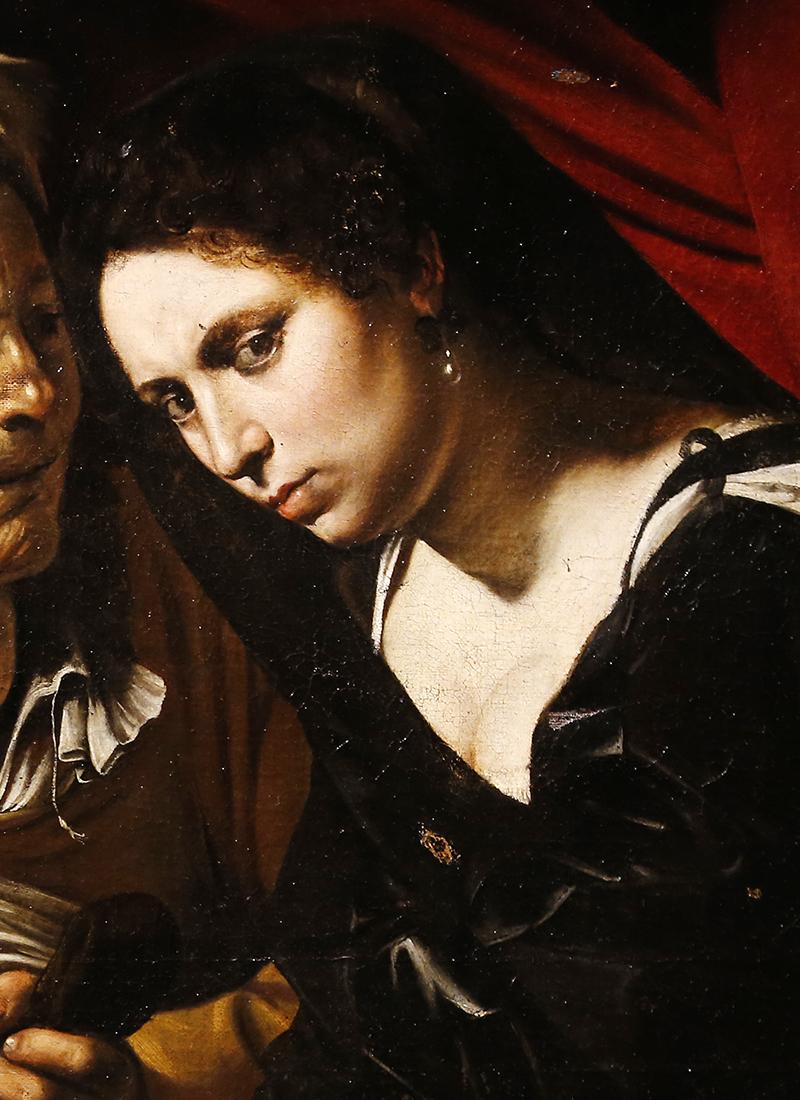 Фрагмент картины «Юдифь и Олоферн»