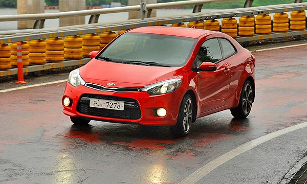 Kia привезет в Россию новый Cerato Koup