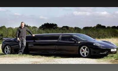 Дэн Коули из Манчестера сделал из своей Ferrari 360 Modena лимузин