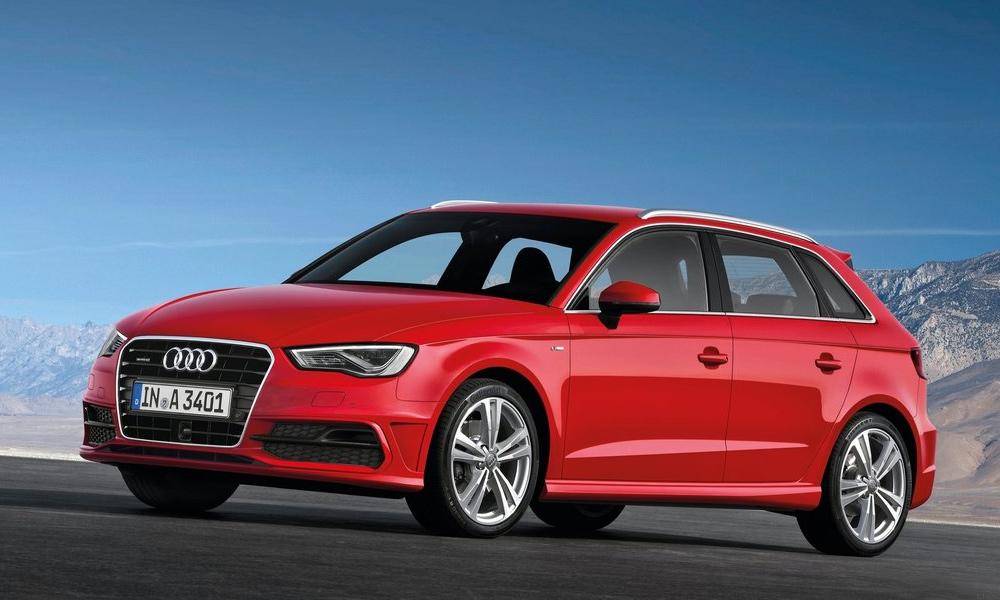 Пятидверный Audi A3 в подробностях. ФОТО