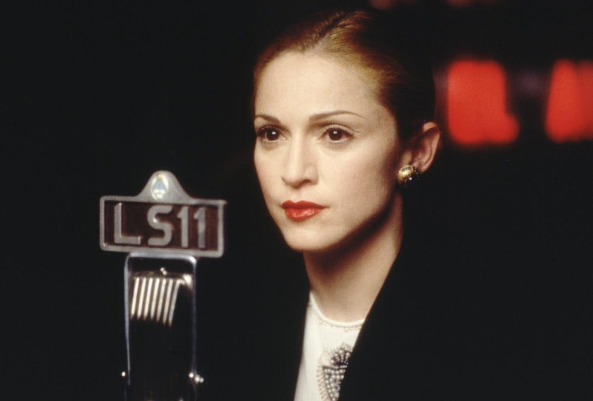 Кадр из фильма «Эвита»