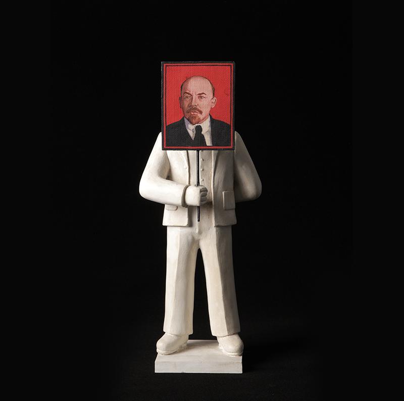 Гриша Брускин, из серии «Рождение героя»Дар самого художника