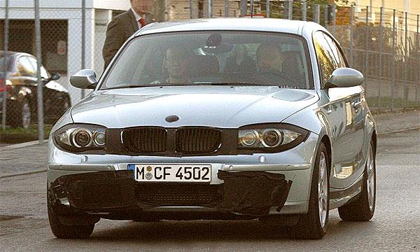 BMW 1 серии подвергся рестайлингу