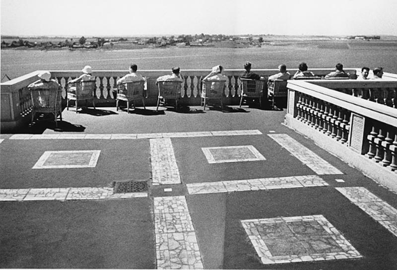 Михаил Прехнер. Северный речной вокзал. Москва, 1937-1938. Серебряно-желатиновый отпечаток