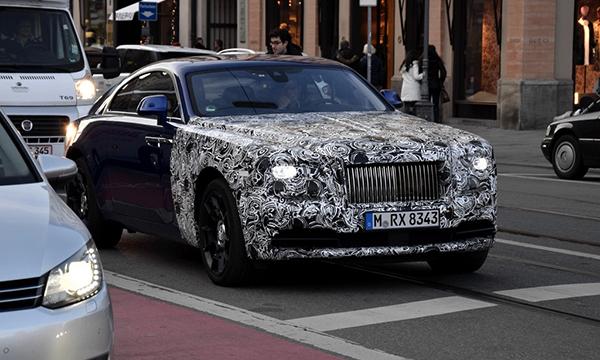Rolls-Royce обновит купе Wraith в 2016 году
