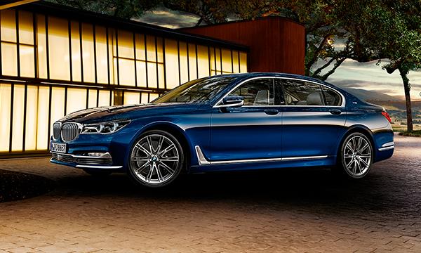 BMW назвала российские цены на юбилейную 7-Series