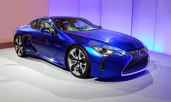 Гидромеханика и водород: на чем в будущем поедут модели Lexus