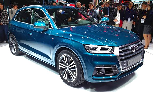 Audi представила Q5 второго поколения