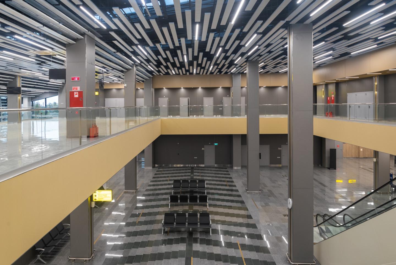 Новый международный терминал аэропорта в Махачкале