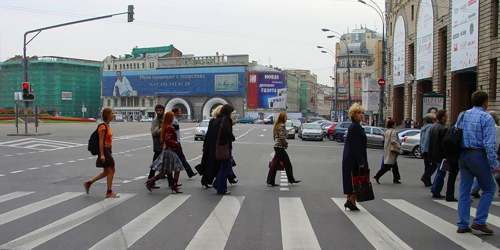 Пешеходы опаснее водителей в шесть раз